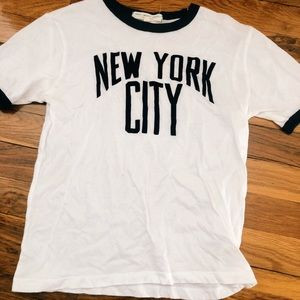 Urban Outfitters Tops - Urban Outfitters New York City Ringer Tee
